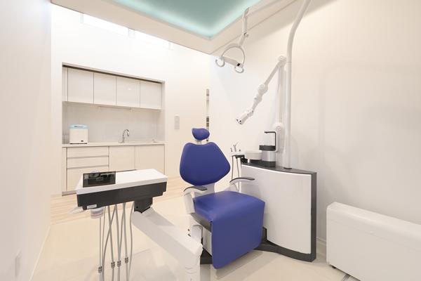 全て個室の治療室